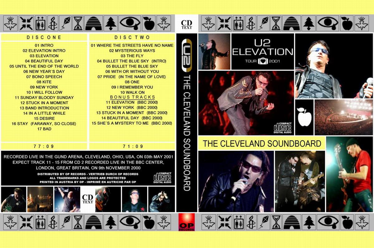 U2gigs.com cover » Audio » 2000-2003 - Elevation Tour » 04 - 2001 - 1st Leg - North America