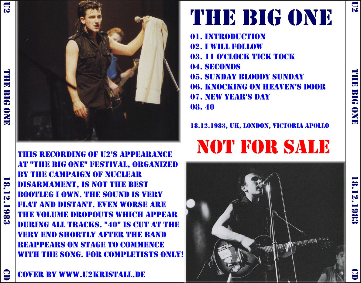 U2gigs com cover » Audio » 1982-1984 - War Tour » 06 - 1983