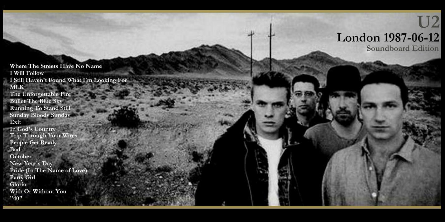 T.U.B.E.: U2 - 1987-06-12 - London, UK (SBD/FLAC)