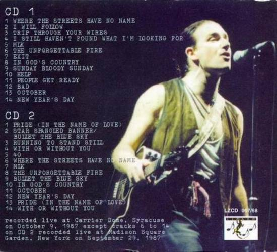 U2gigs com cover » Audio » 1987 - The Joshua Tree Tour » 04