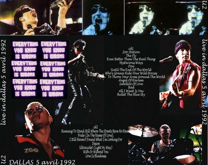 U2gigs com cover » Audio » 1991-1996 - Zoo TV Tour » 04