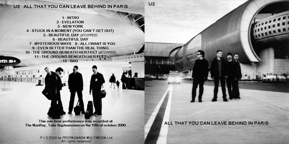 U2gigs com cover » Audio » 2000-2003 - Elevation Tour » 02