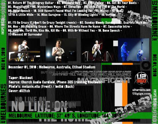 U2gigs com cover » Audio » 2007-2011 - 360 Degrees Tour » 09
