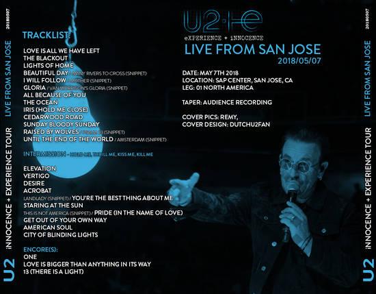 U2gigs com cover » Audio » 2017-2018 - Experience