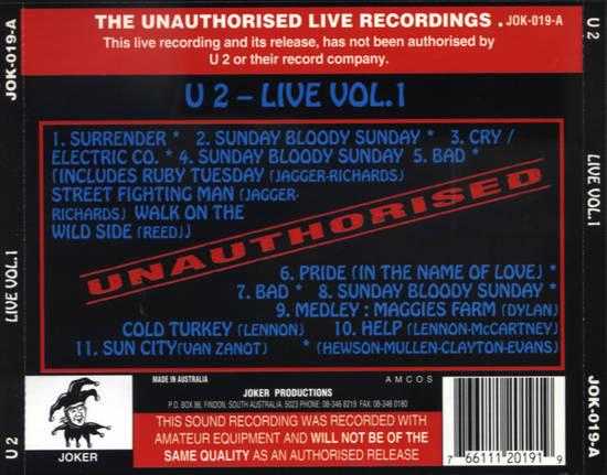U2gigs com cover » Audio » Compilations » 05 - Various