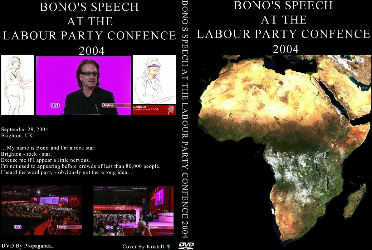 bono speech analysis