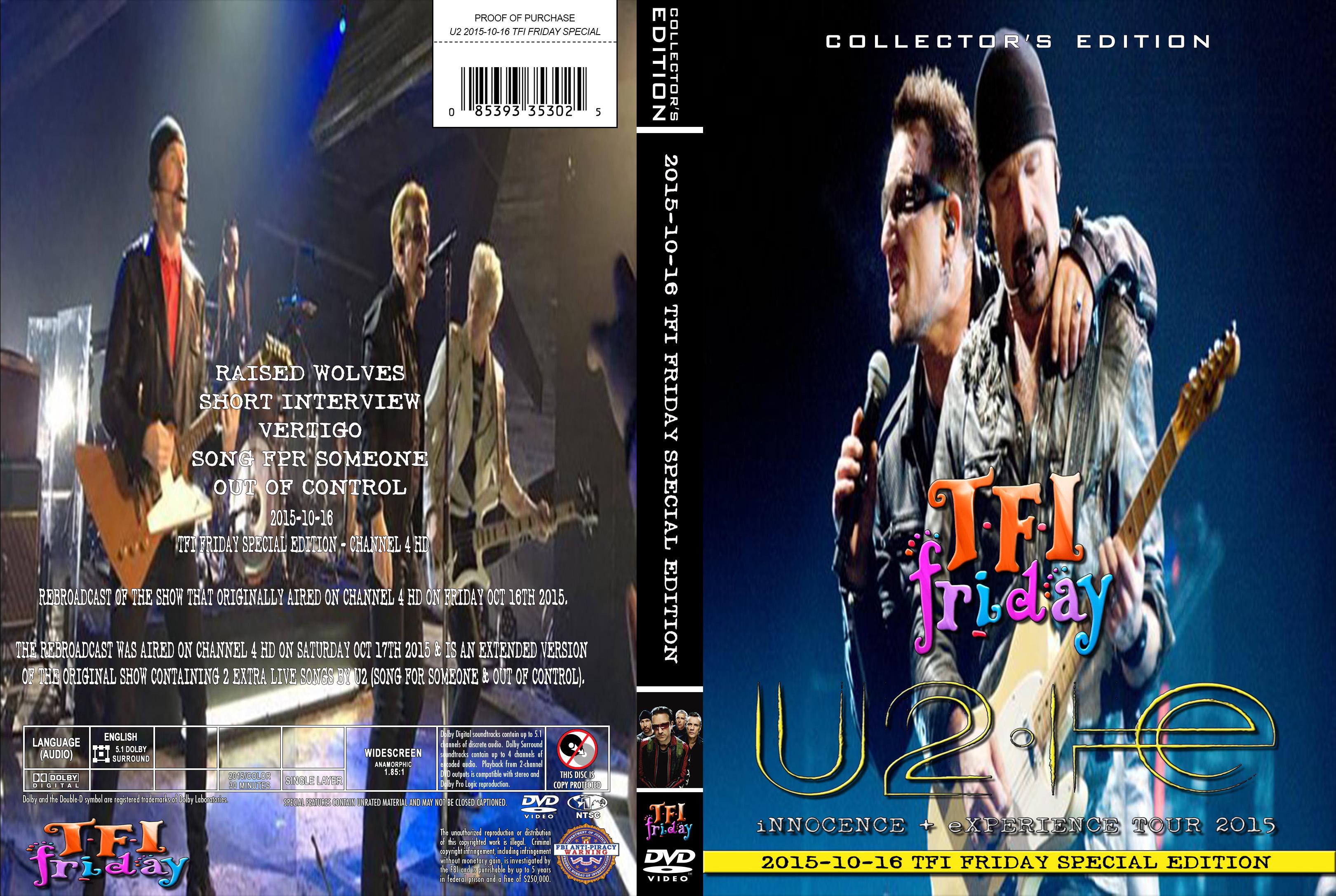 U2gigs com cover » Video » Blu-ray » 2012-2016 - Innocence