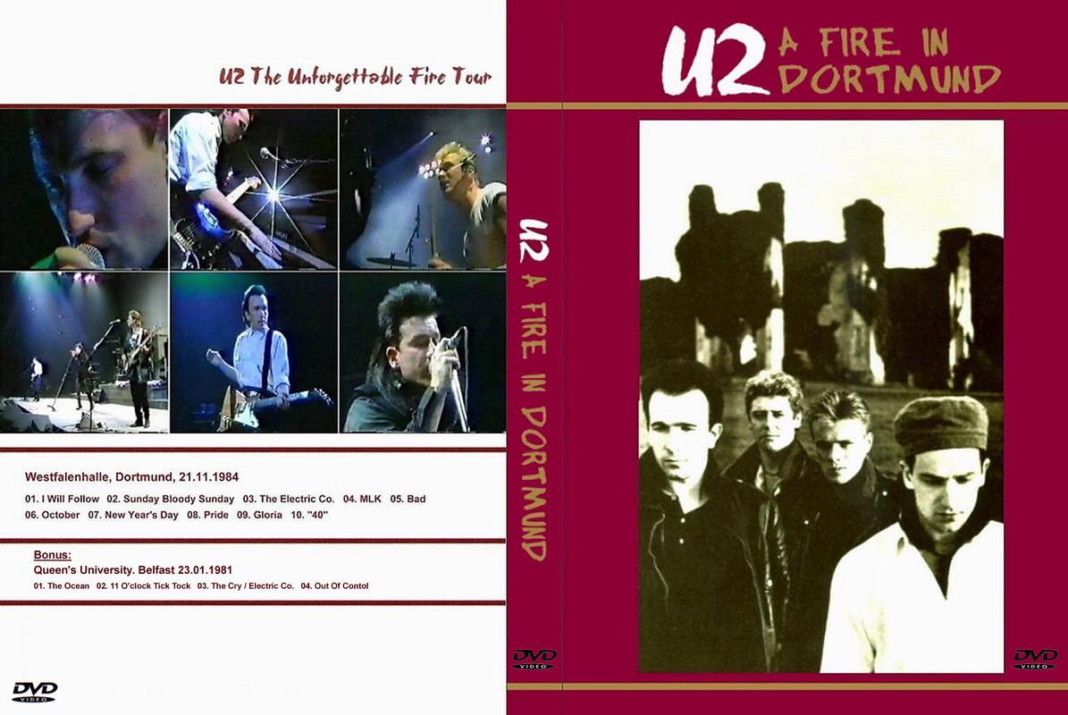 U2gigs com cover » Video » DVD » 1984-1985 - The
