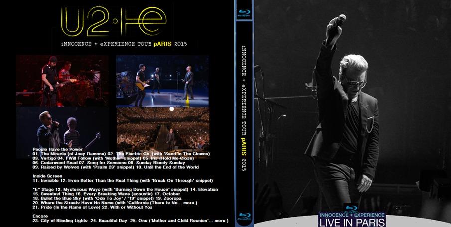 U2 Acoustic Songs